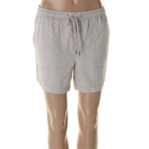 knit waist shorts calvin klein 1067 womens knit elastic waist casual