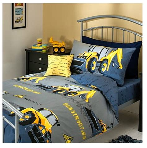 Interior Design For Family Room - boy s yellow digger themed bedroom ideas