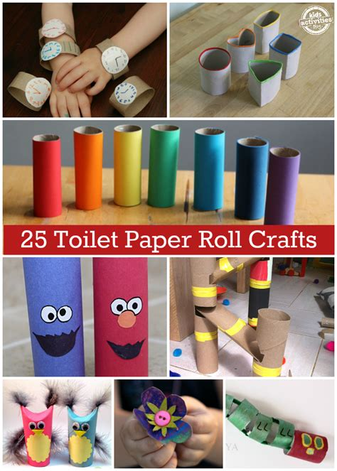 paper roll crafts 25 toilet paper roll crafts