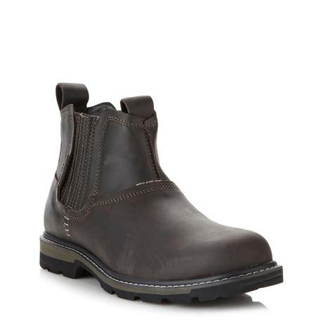 skechers blaine orsen mens boots mens skechers slip on ankle shoes leather blaine orsen