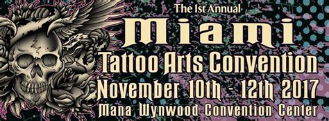tattoo convention wynwood miami tattoo arts convention miami fl nov 10 2017 2