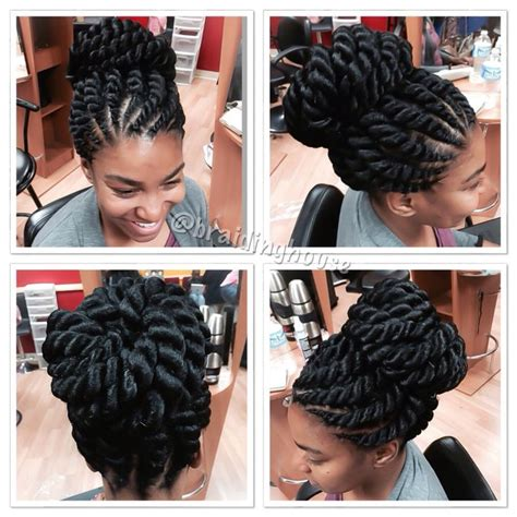 how to twist knot black hair for style 43 best images about braids african hair braiding