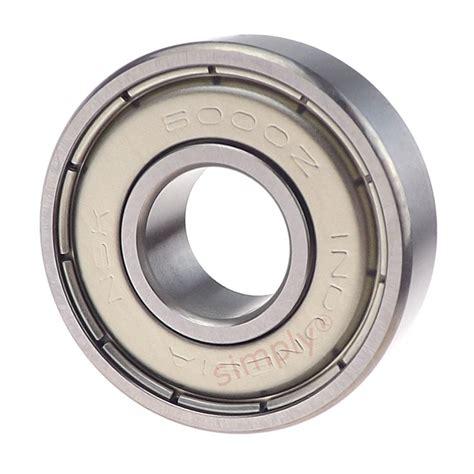 Bearing 6014 Zz Nsk nsk 6000zz metal shielded groove bearing 10x26x8mm simply bearings ltd