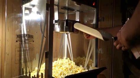theater popcorn machine  ounce youtube