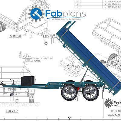 boat trailer parts bunbury 10 x7 tipper trailer plans build your own tandem axle