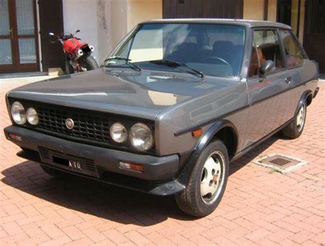 fiat 131 for sale 1984 fiat 131 abarth volumetrico classic italian cars