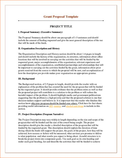 project proposal layout sle 6 sle of funding proposal project project proposal