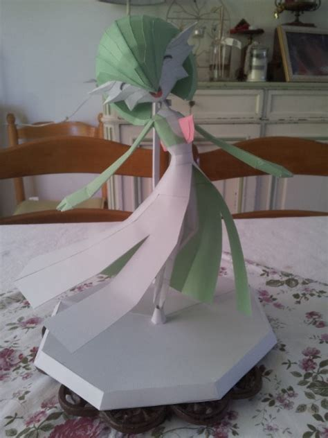 Gardevoir Papercraft - gardevoir papercraft 4th by gardevoir7 on deviantart