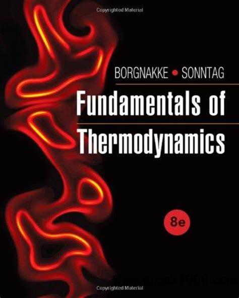 Fundamentals Of Thermodynamics 8th Edition Free Ebooks