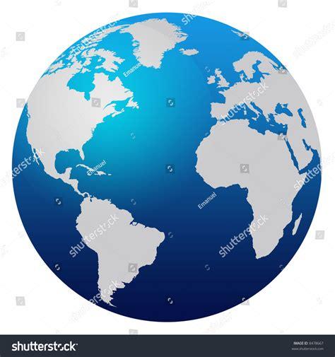 world map blue globe stock photo  shutterstock