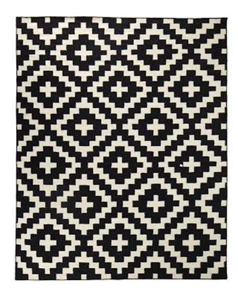 black and white aztec rug copy cat chic horchow aztec chama flatweave rug
