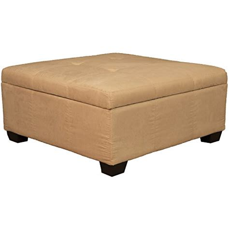 36 X 36 Storage Ottoman 36 Quot X 36 Quot X 18 Quot High Tufted Padded Hinged Storage Ottoman