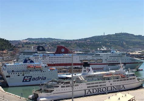 partenze porto ancona al via la stagione delle partenze al porto di ancona