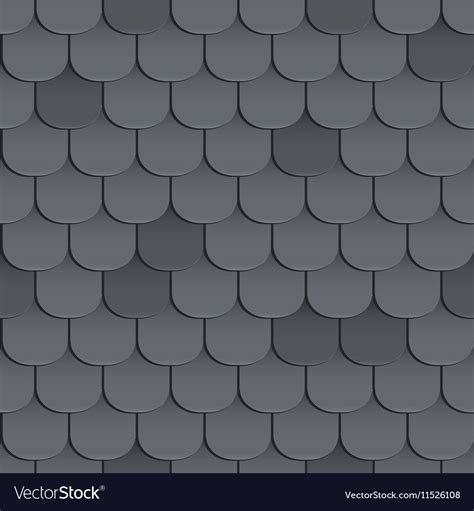 tiled shingle roof shingles roof seamless pattern royalty free vector image