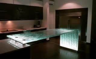 glass kitchen countertop 25 unique kitchen countertops