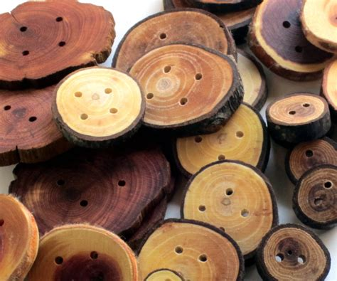 Handmade Wooden Buttons - handmade wooden button lot 100 buttons sweater