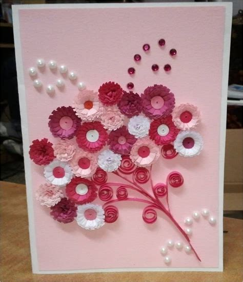 Handcrafted Card - top 10 handmade greeting cards