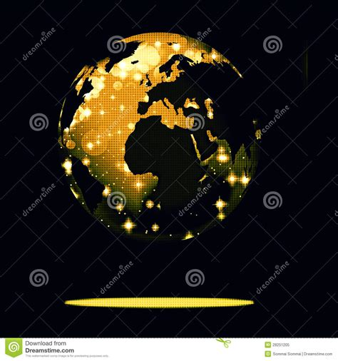 earth new year earth symbol of the new year on our planet royalty free