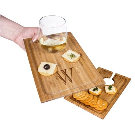 Wine Appetizer Tray It Or It by Personalized Bamboo Wine Dine Appetizer Trays