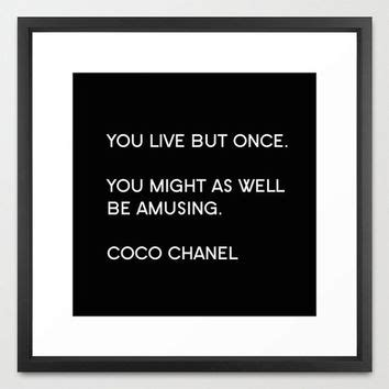 coco wall art chanel prints chanel quote coco prints typography print canvas art coco from bellabellashoppe on