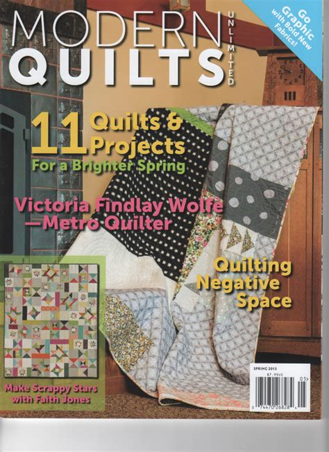 Modern Quilt Magazine by Modern Quilts Frieda