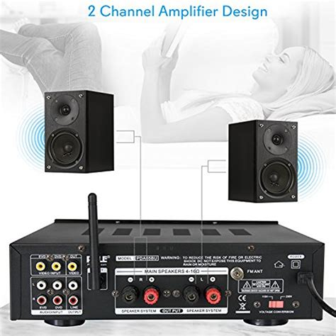 compact home theater amplifier stereo receiver