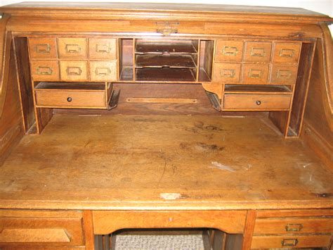 vintage roll top desk roll top desk for sale antiques com classifieds
