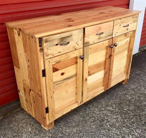 woodworking pallets wood pallet sideboard 99 pallets