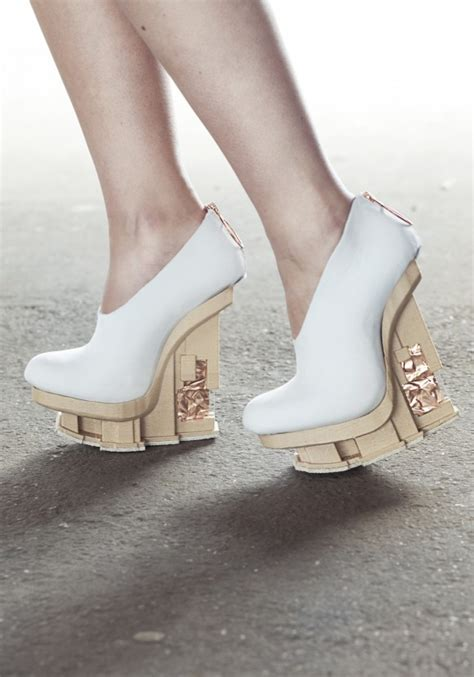 3ders Org 3d Printed Shoes 3ders Org Designers Adopt 3d Printing Colorfabb Wood Filament For New Shoe Collection