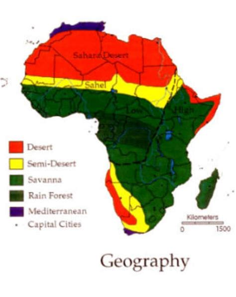climate map of africa safari home