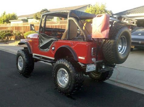 Custom Jeeps California Sell Used 1969 Jeep Cj5 Custom In Milpitas California