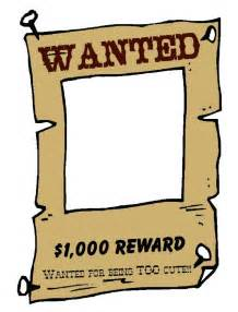 wanted poster template free printable poster pictures free cliparts co