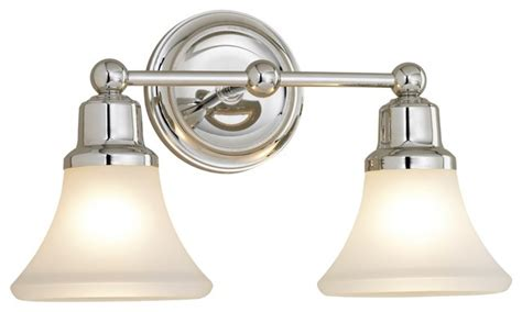 Country Bathroom Lighting Country Cottage Elizabeth Polished Nickel Two Light Bath Fixture Traditional Bathroom