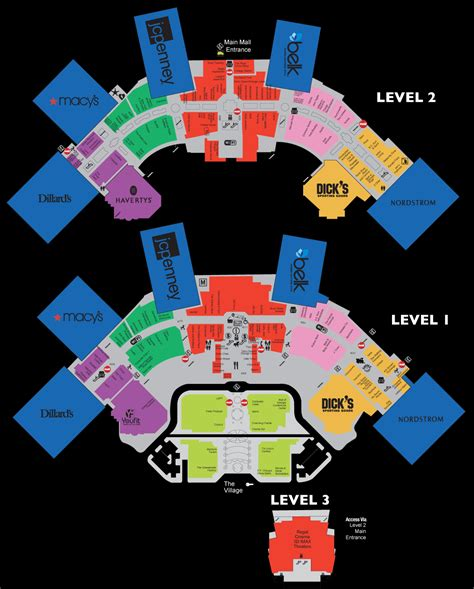 mall map mall map for mall of 174 a simon mall located at