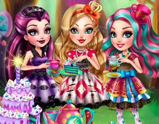 real haircuts games ever after high play free ever after high tea party