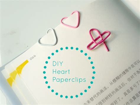 How To Make A Shaped Paper Clip - novelty and chevron shaped paperclips