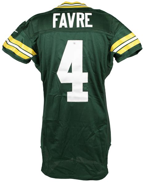 brett favre jersey lot detail 2000 brett favre green bay packers authentic nike jersey