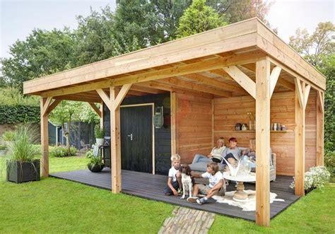 maximale grootte tuinhuis geen vergunning vrijstaande veranda plaatsen werkspot