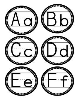printable letters of the alphabet for word wall printable polka dot alphabet letters 9 best images of
