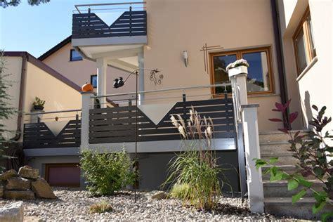 Terrassengeländer Alu Preise by Edelstahlgel 228 Nder Mit Glas Und Alu Rettner Ziegler