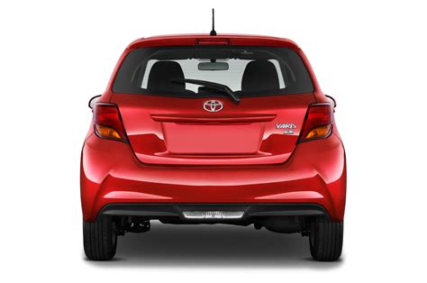 Rear View All New Yaris 2014 2017 toyota yaris reviews and rating motor trend
