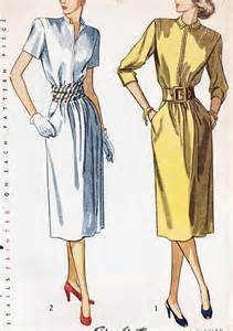 1940 1949 fashion through the decades