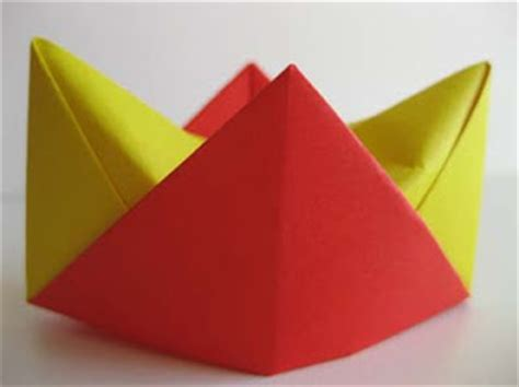 origami crown origami origami crown
