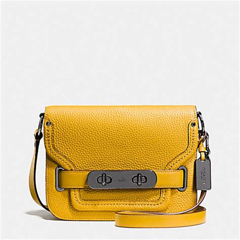 New Arrival Coach Swagger Mini coach f35611 coach small swagger shoulder bag in pebble