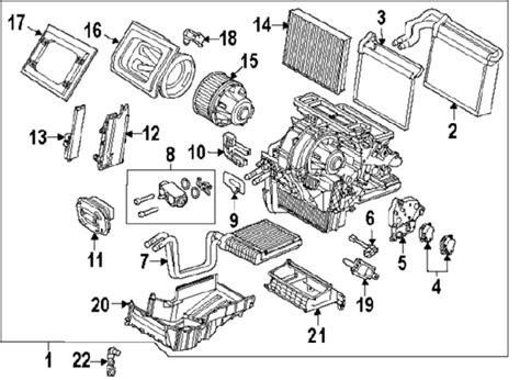 Ford Focus Car Parts Diagram