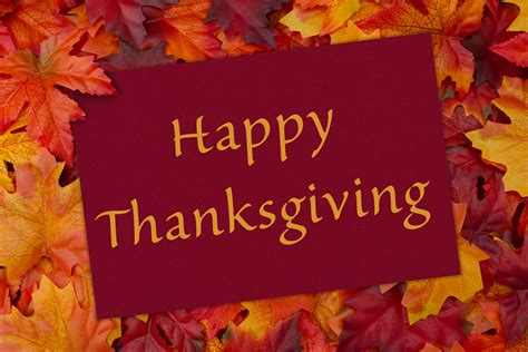 Happy Thanksgiving by Happy Thanksgiving Broadlands Hoa