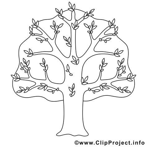 Kostenlose Vorlage Baum baum bild zum ausmalen malvorlage
