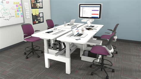 steelcase adjustable desk series 5 fantastic standing desk shootout steelcase airtouch