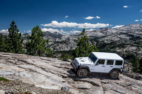 rubicon trail driving the rubicon trail in a jeep wrangler motoring