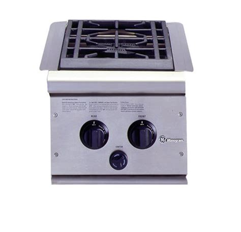 Outdoor Cooktop Propane by Ge Monogram 174 Dual Burner Outdoor Cooktop Liquid Propane
